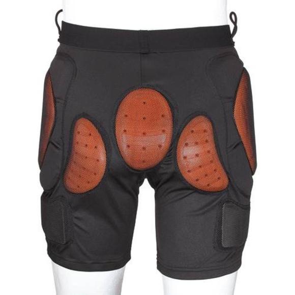 Burton Pants - Red Burton Total Impact Padded Shorts ski snowboar